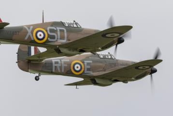 Entry to Duxford Battle of Britain Air Show 2019, return rail travel and shuttle bus