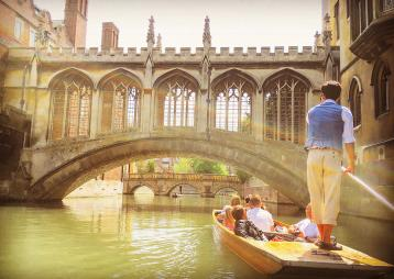Rutherford's Punting Cambridge