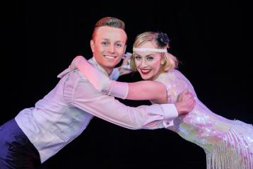 Two performers at Cromer pier