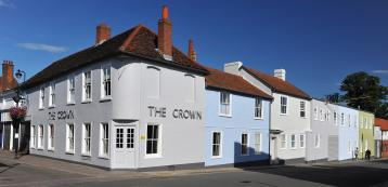 The Crown at Woodbridge - exterior