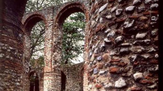 English Heritage: St Botolph's Priory