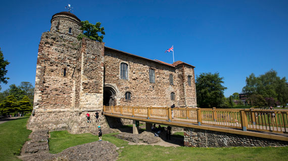 Visit Colchester Castle for a Norman and Roman day out