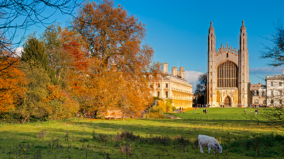 Cambridge in autumn