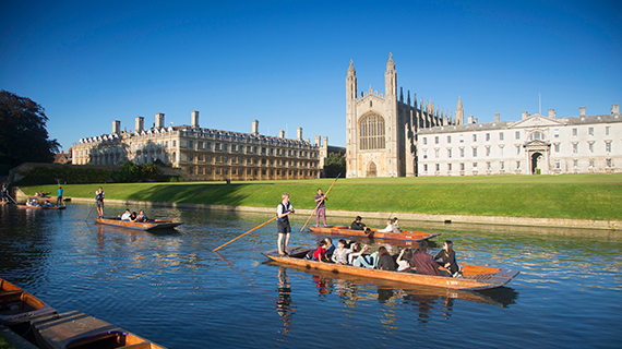 The weekenders' guide to Cambridge