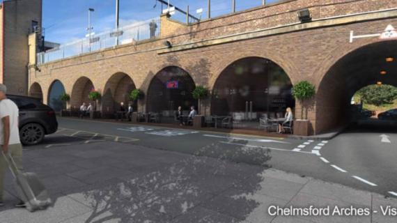 Picture of Chelmsford Station - Arch 1 & Arch 2 number 1