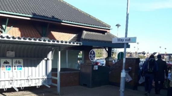 Picture of Cromer Railway Station - Mobile Catering number 1