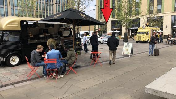 Picture of Cambridge Station – Street Food Market (Pitch 2) number 1