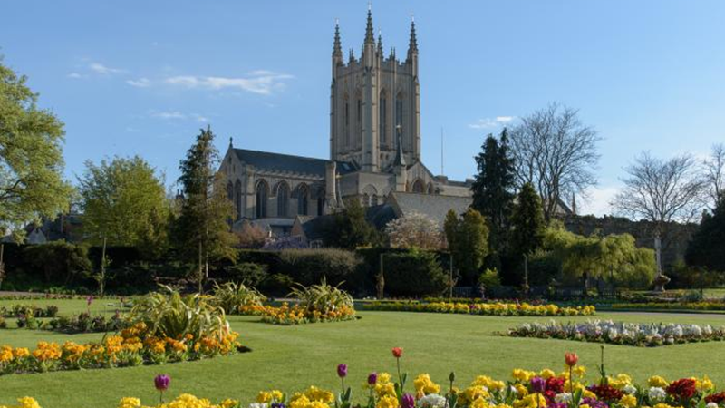 Discover Bury St edmunds homepage