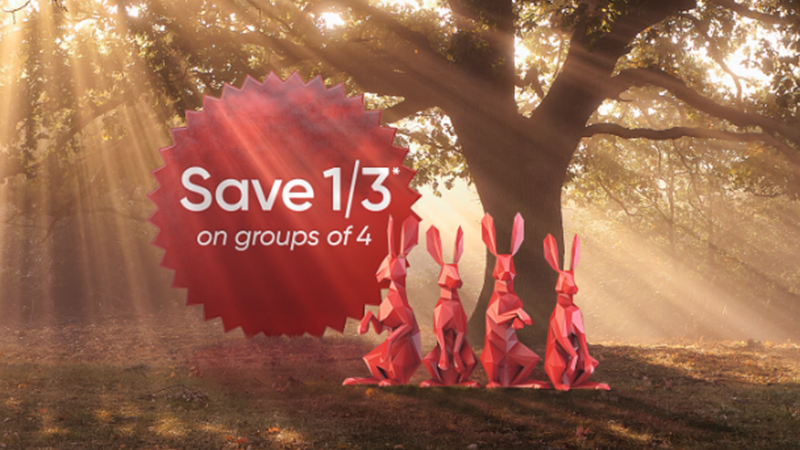 Groupsave Hare homepage banner