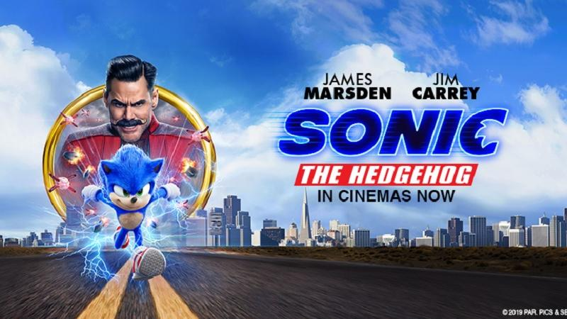 Sonic homepage banner
